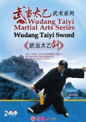 Wudang Taiyi Martial Arts Series - Wudang Taiyi Sword (2 DVDs) - (WM4K)
