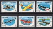 Vietnam Stamps - 1987, Sc 1794-99 , NC Hafnia '87 - CTO, F-VF - (9N06T)