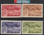 South Vietnam Stamps - 1964, Scott 227-30, Danhim Hydroelectric Set, MNH, F-VF - (9V048)