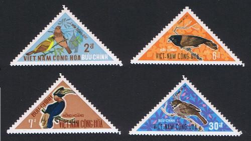 South Vietnam Stamps - 1970. SC# 364-7, Birds - MNH, F-VF (9V093)