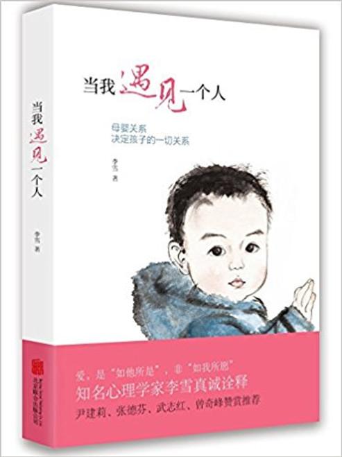 当我遇见一个人:母婴关系决定孩子的一切关系 平装 (W0CA)
