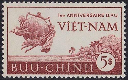 South Vietnam Stamps - 1952, Sc 18, UPU - MLH, F-VF  (9V0CR)