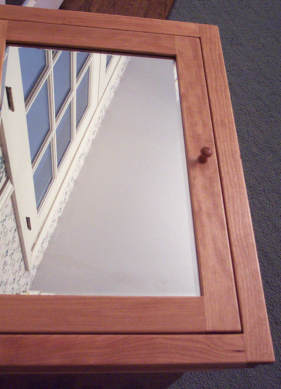 Wondrous Narrow Shaker Style Recessed Medicine Cabinet Cherry Oak Or Maple Finished Home Interior And Landscaping Mentranervesignezvosmurscom