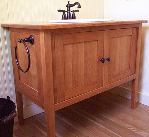 Shaker Style Bathroom Vanities Meadowbrook Creations