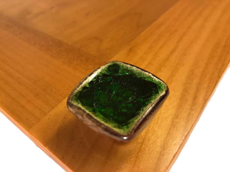 funky ceramic knob