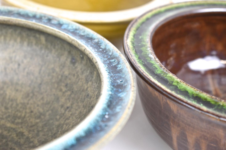glass pottery rim