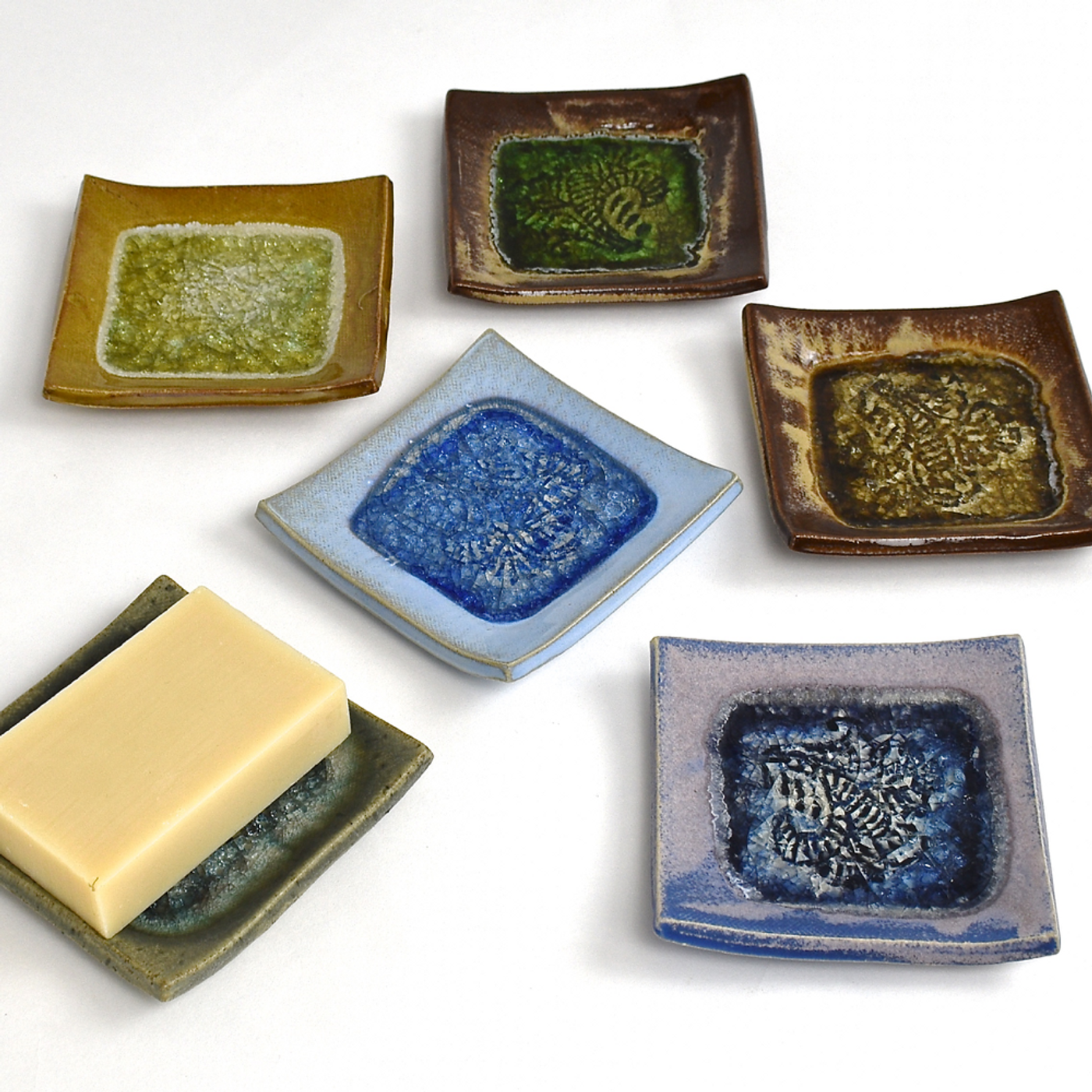 glass pottery dish