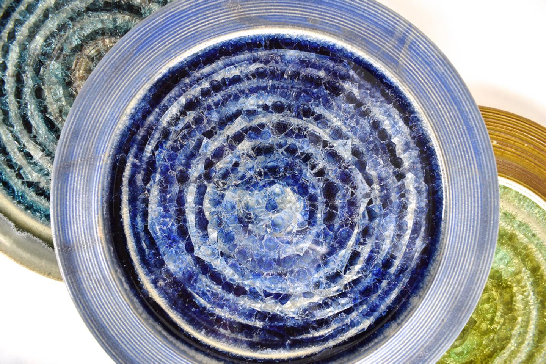 stepping stones glass swirl