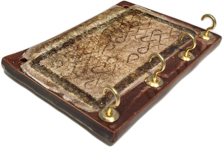 key holder brown