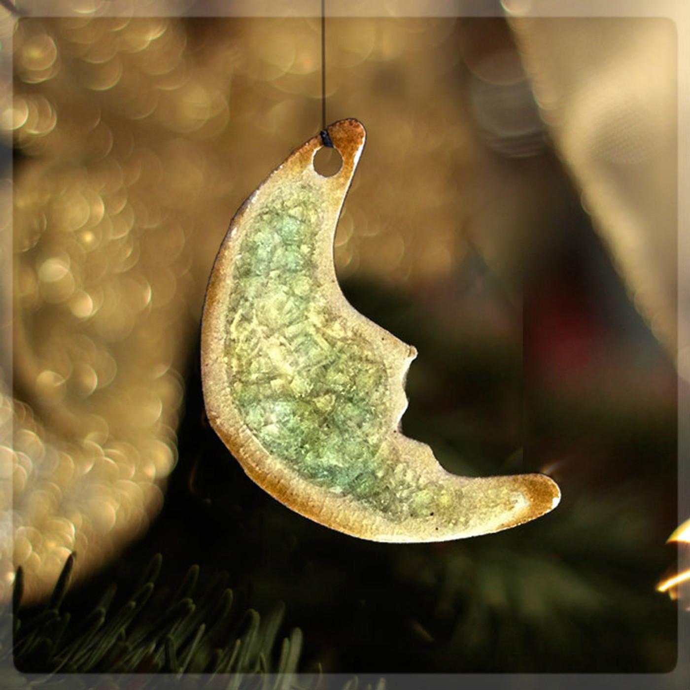 ornament man in moon