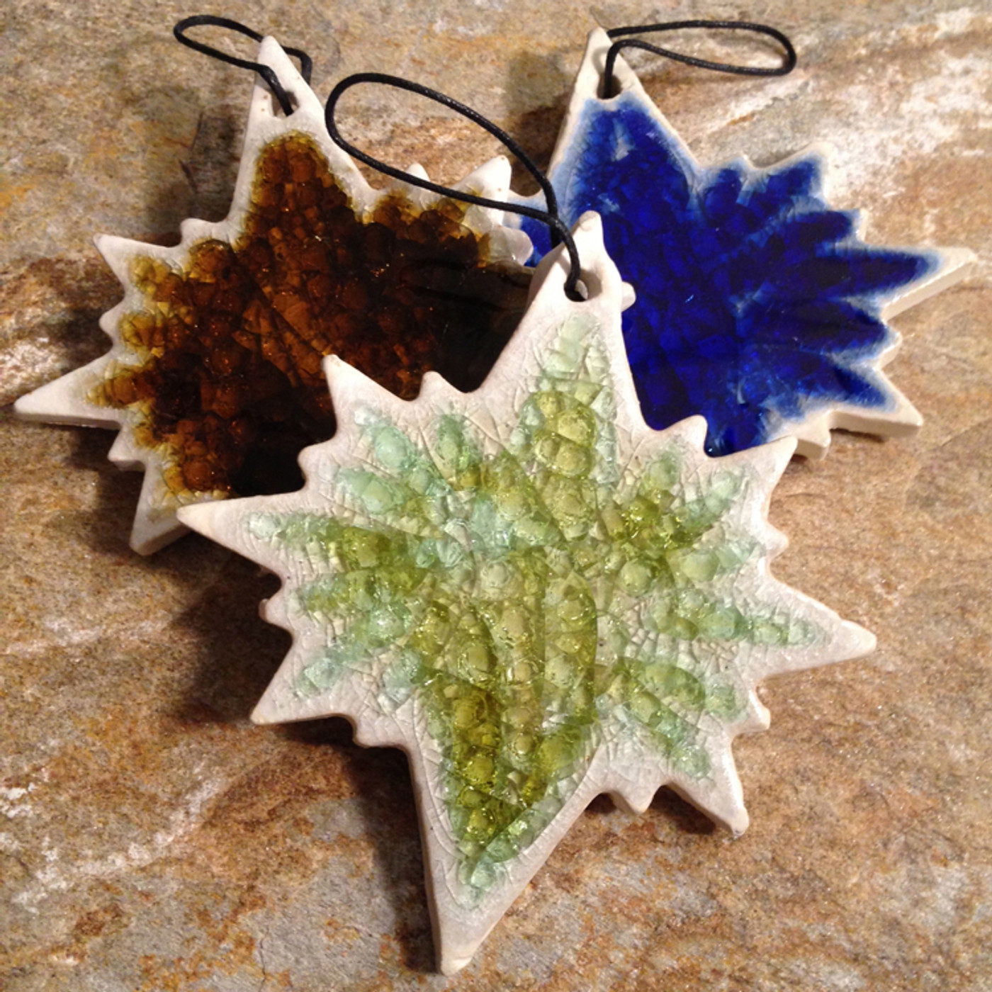 Holiday Ornaments Sale - North Star in assorted colors