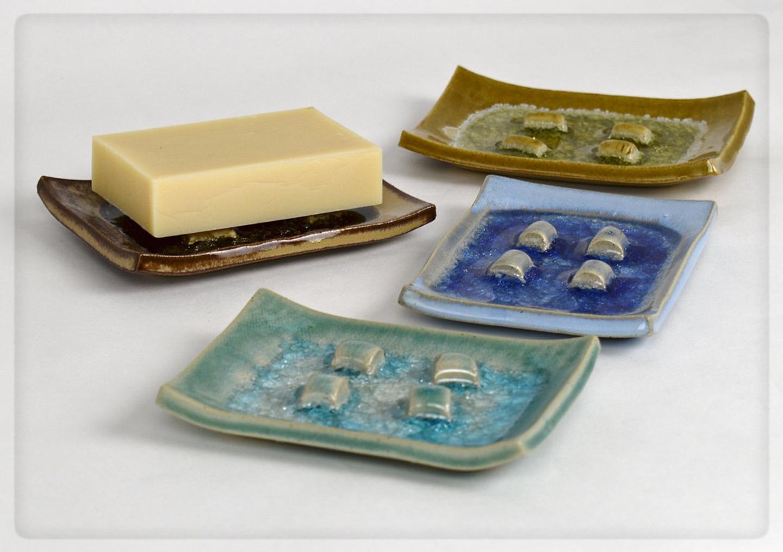 soap on raised dish