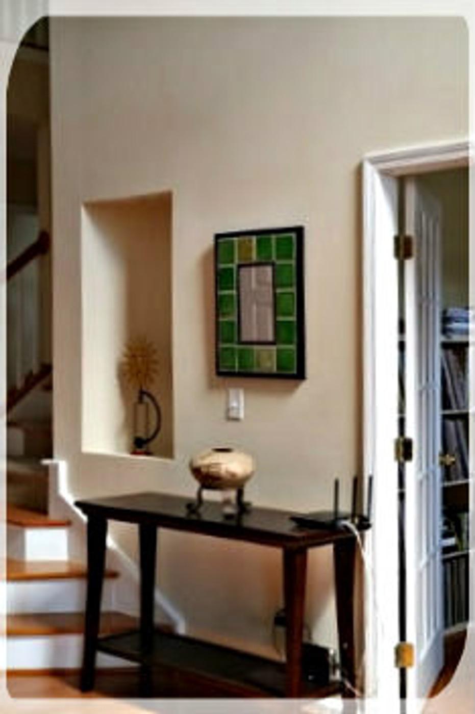 mirror home interior