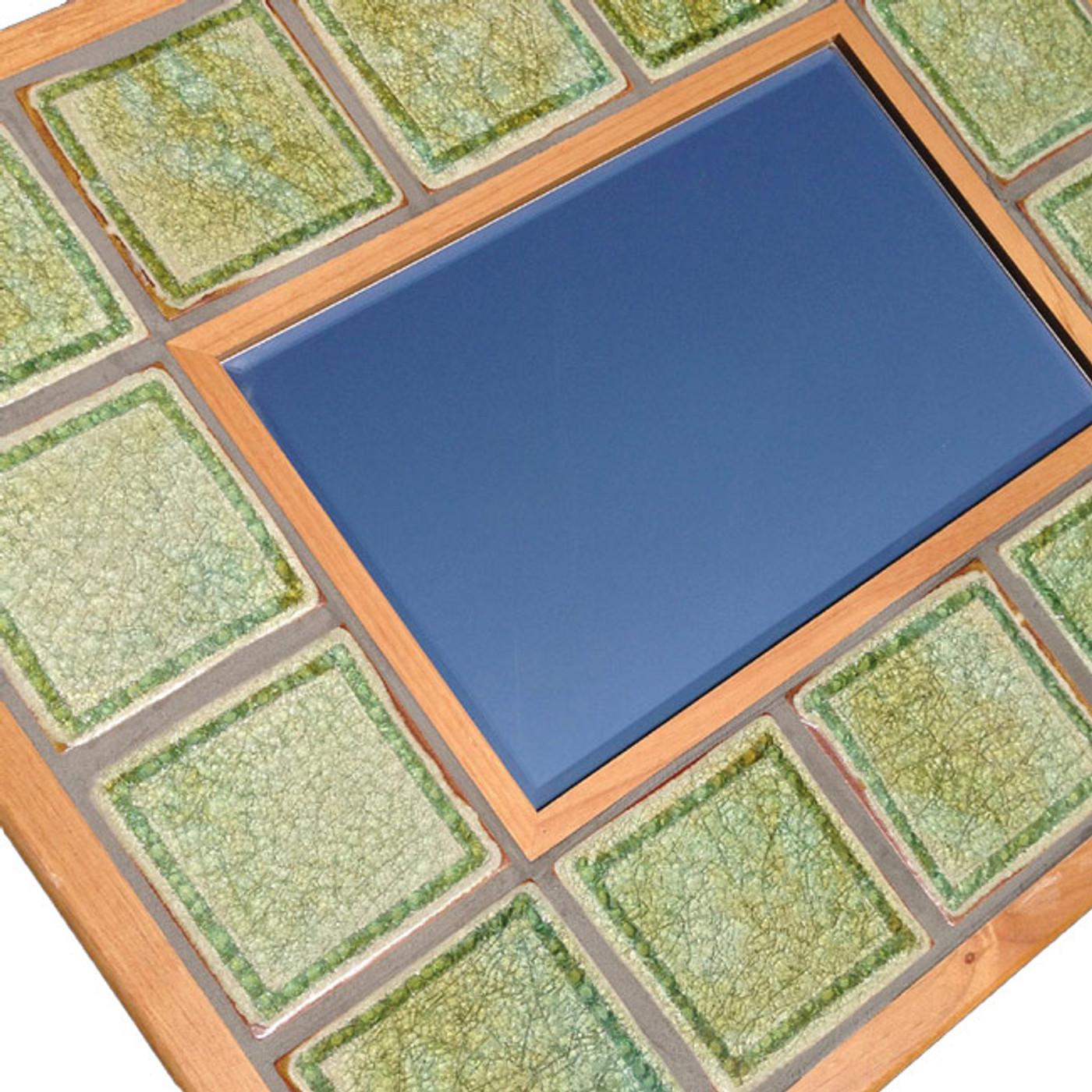 mirror tiled