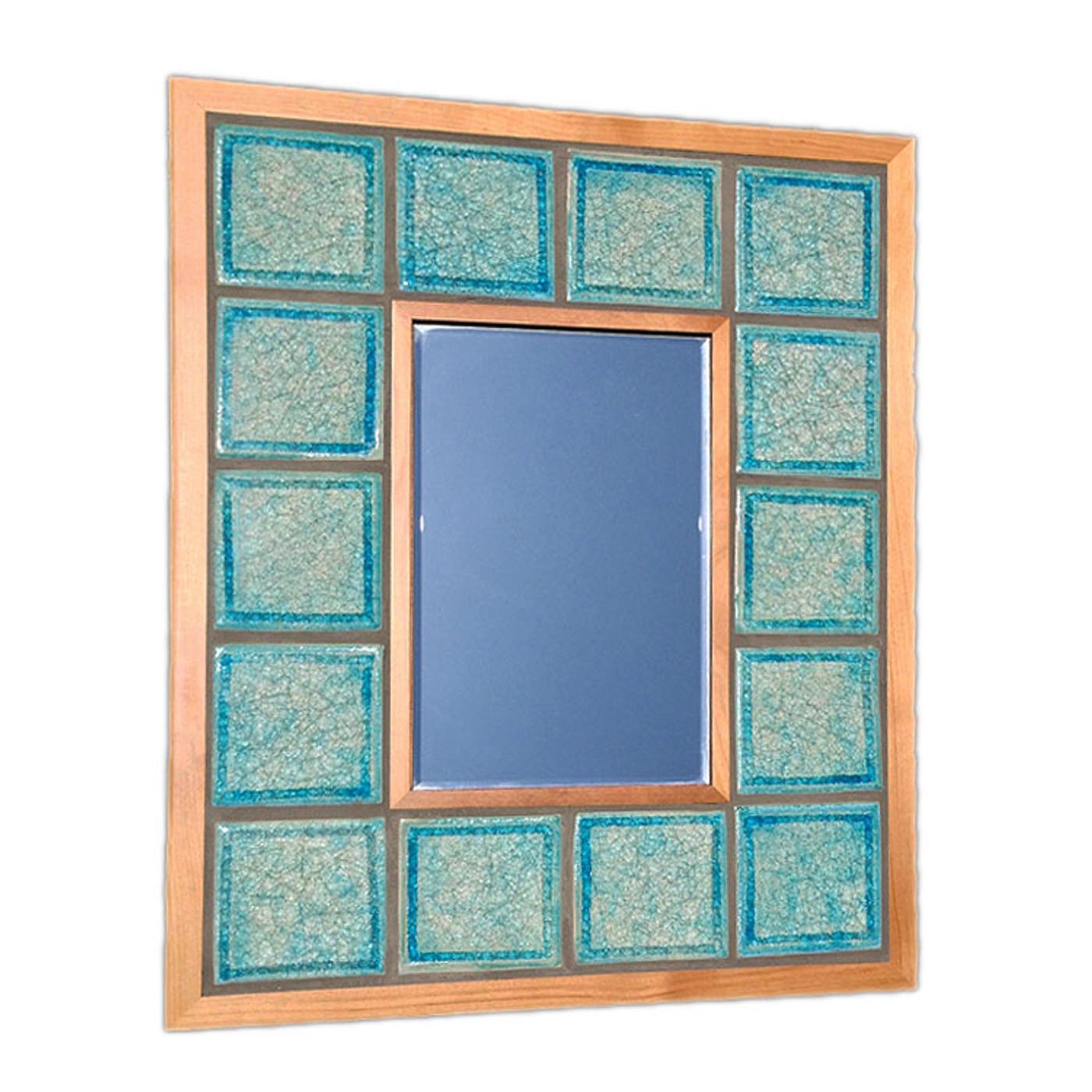 tropical decor mirror
