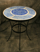 Bistro Table - Sky Blue