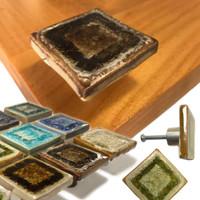 square drawer pulls