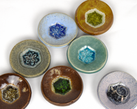 funky glass pottery