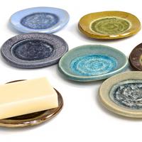 handmade soap dish round