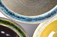 glass pottery rim