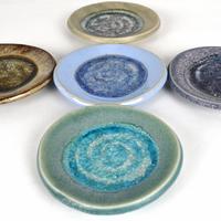 unique glass dish