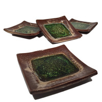 forest green dish