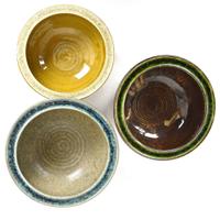 handmade pottery bowls