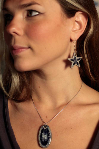 star earrings dangle