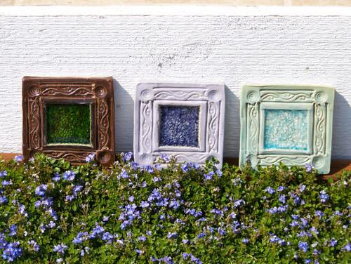 Garden Art Square Tiles