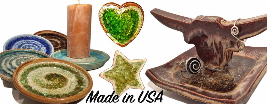 Eco Gift Packages Made in the USA with 100% Recycled Glass