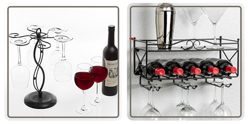 Organize Your Kitchen and Serving Ware, Best Wine Glass Racks