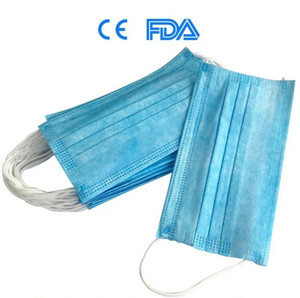 3 PLY One Size Fits Most Blue Non Sterile BX/1000