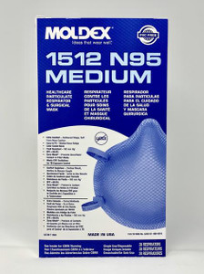 5 boxes of 20--1512 N95 Series Healthcare Particulate Respirator & Surgical Masks