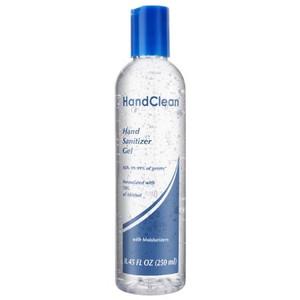 Case/48 Hand Sanitizer Freshscent 8.45 oz. Ethyl Alcohol Gel Bottle