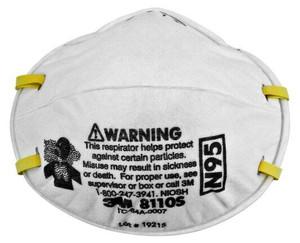 Case/6 Box/20 3M™ Particulate Respirator 8110S, N95
