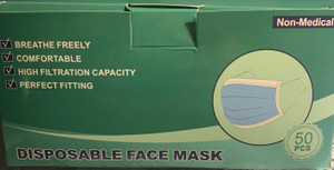 Box/50 Level 1 3ply Masks