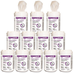 Case/12 160/ct Pack Diversey Oxivir 1 TB Wipes
