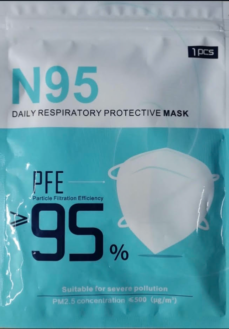 N95 Daily Respiratory Protective Mask