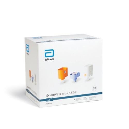 Rapid Test Kit ID Now™ Molecular Diagnostic Influenza A + B Nasal Swab / Nasopharyngeal Swab Sample 24 Tests