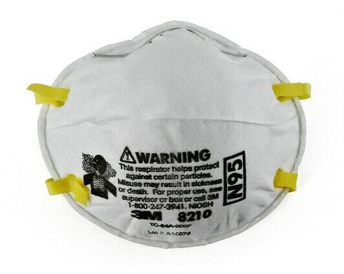 Box/20 3M™ Particulate Respirator 8210, N95