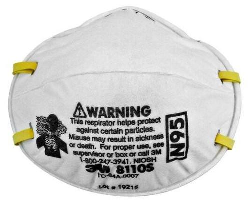 Box/20 3M™ Particulate Respirator 8110S, N95