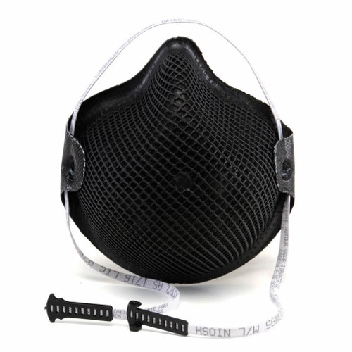 Case/180 Moldex 2600 Series Black Ops Edition N95 Respirators Bx/15