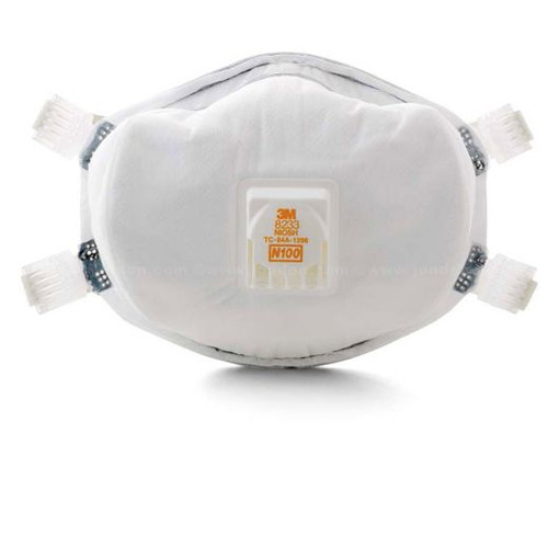 Case/20 3M  8233 N100 Particulate Respirators