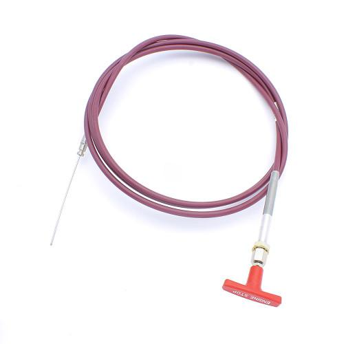 Fuel Shut Off Cable, Replaces Case L105316