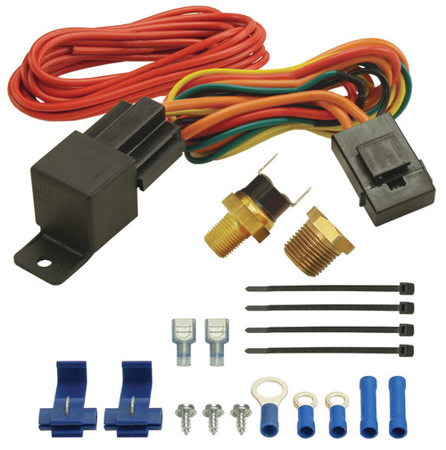 180F Fan Switch Thremost Relay Kit 1/8in & 3/8