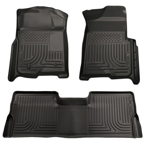 09- F150 Super Cab Front 2nd Seat Liners