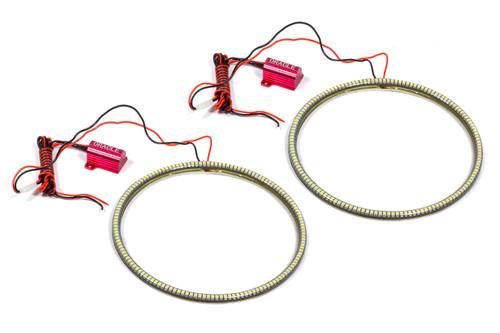 07-   Wrangler LED Head Light Halo Kit White