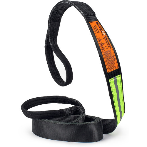 3in x 20ft Black Op Tow Strap