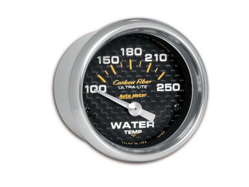 C/F 2-1/16in Water Temp. Gauge 100-250