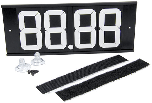 Dial-In Board 4 Digit w/ Suction Cups and Velcro